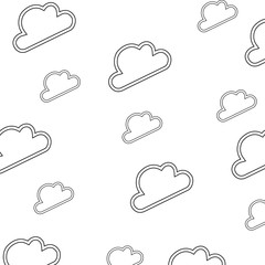 wallpaper cloud abstract draw vector icon illustration