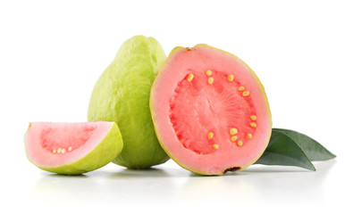 Papiers peints Fruit Guava fruit with leaves