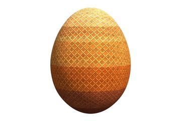 пасхальное яйцо в полоску