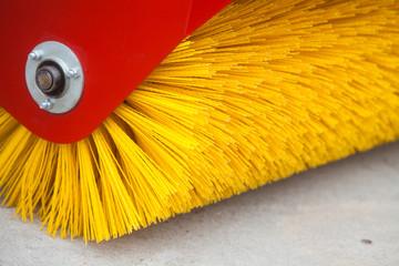 Road brush sweeping machine