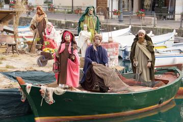 Presepe sull'acqua a Desenzano
