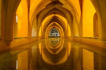 Baths of Lady Maria de Padilla, Alcazar of Seville, Spain