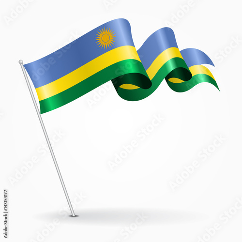 pin rwandan flag on - photo #28