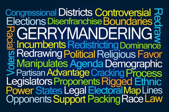 Gerrymandering Word Cloud