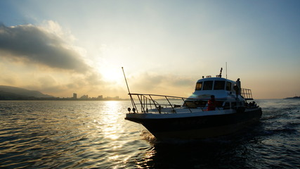 Sunset at Tamsui River