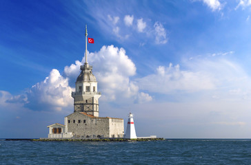 Istanbul maiden`s tower