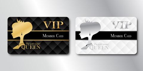 Queen Member VIP Card