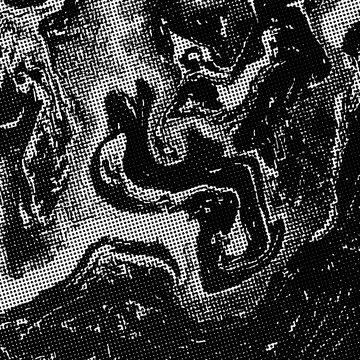 vector monochrome glitch art background .