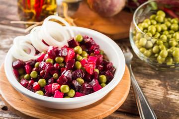 Beetroot salad Vinaigrette