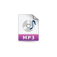 Color Icon - Audio file