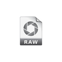 Color Icon - RAW file format