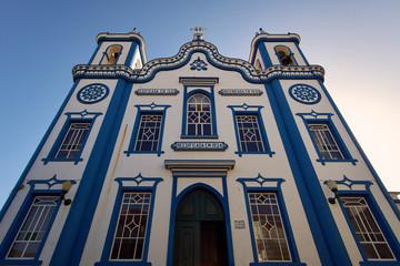 Igreja de Santo Cristo church in Praia da Vitoria, Terceira, Azores