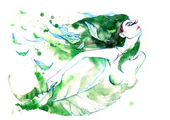 Foto auf Leinwand Gemälde Spring