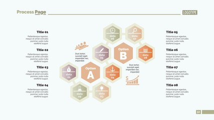 Eight Elements of Success Slide Template