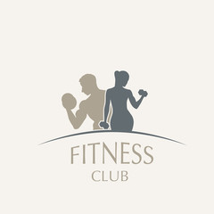 logo fitness club