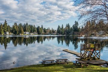 Mirror Lake Reflection 5