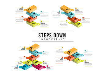 Stairstep Infographic