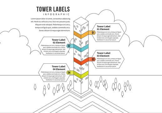 Skyscraper Progress Infographic 2
