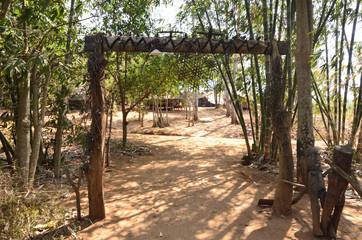 village of the Karen tribe