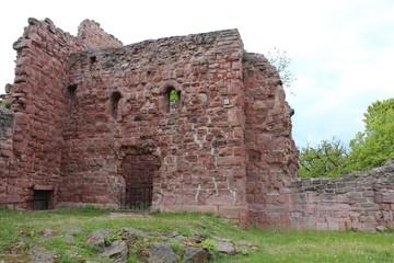 Reichsburg Kyffhausen: Burgkapelle der Unterburg