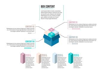 Opened Box Infographic