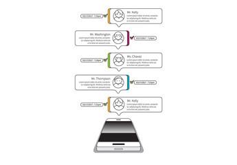 Line Art Smartphone Infographic 5