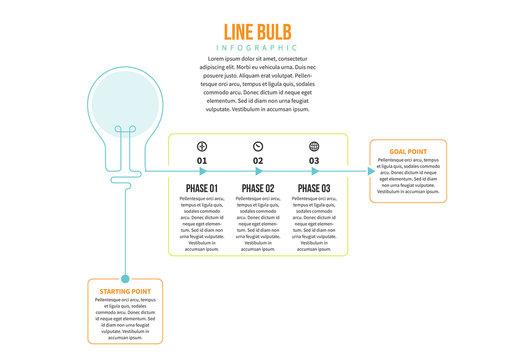Lightbulb Elements Infographic 3