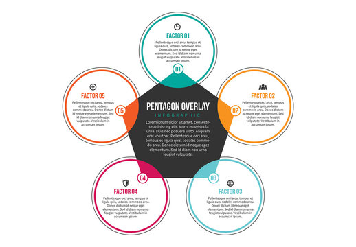Linked Circle Cluster Infographic 4