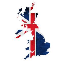 イギリス 地図  国旗 アイコン
