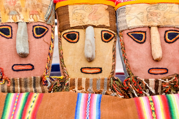Peruvian cloth mask