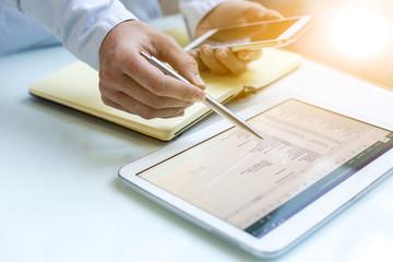 Buchhaltung am Tablet-PC