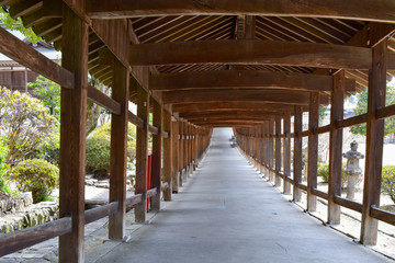 名所 吉備津神社回廊