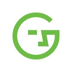 letter G logo vector.