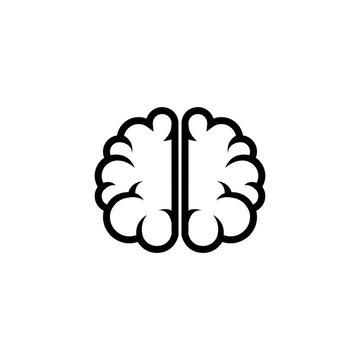 brain human creative icon vector illustration design