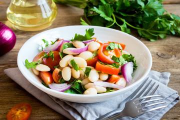 Fotobehang - White Bean Salad