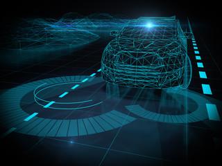 Driver less autopilot vehicle