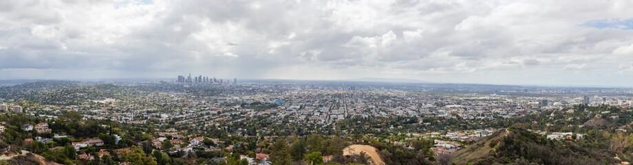 Panoramic view of Los Angeles, California