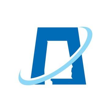 alabama logo vector. map vector.