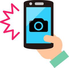 スマートフォンのカメラ機能