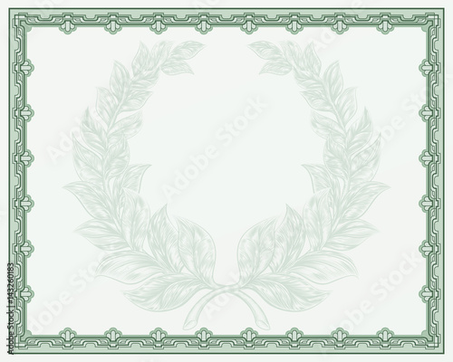 Certificate Scroll Background Template\