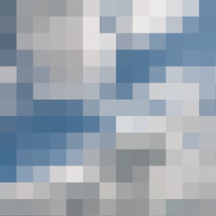 Abstract colored mosaic background