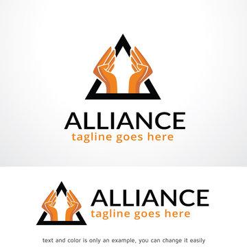 Alliance Logo Template Design Vector, Emblem, Design Concept, Creative Symbol, Icon