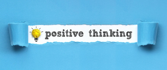 positive thinking  / papier