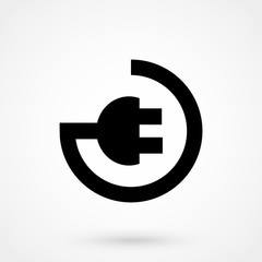 plug in vector icon
