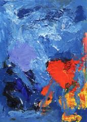 Background art. Blue