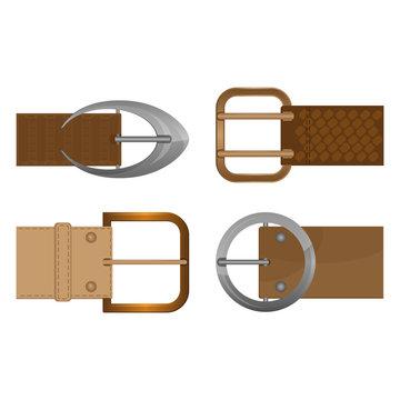Belt buckles metal unisex clothing accessories worn on waistband.