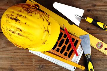 Some masonry tools