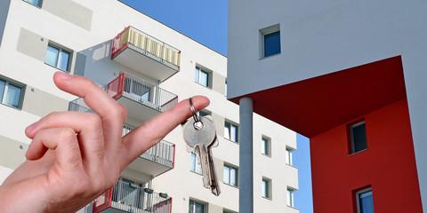 neue Wohnung, Wohnungsschlüssel