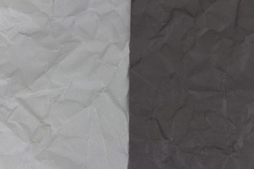 black and gray crumpled paper texture background