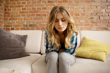Stomach ache, women problems.